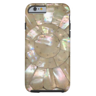 MOTHER OF PEARL PRINT Coppernail Tough iPhone 6 Case