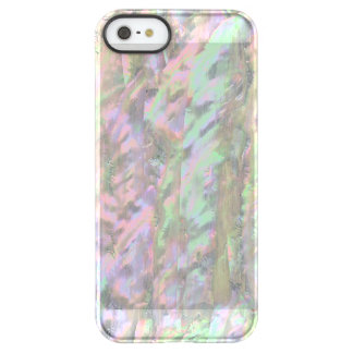 MOTHER OF PEARL PRINT Pink Green Permafrost® iPhone SE/5/5s Case