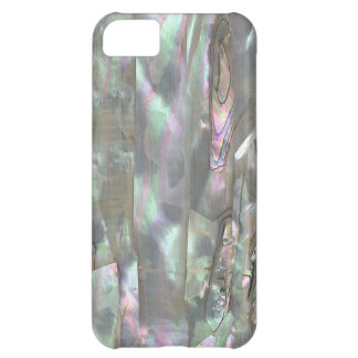 MOTHER OF PEARL Red Abalone Print iPhone 5C Case