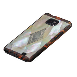 mother of pearl samsung galaxy SII covers