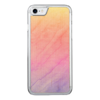 Mother of Pearl Shell Watercolor Stone Carved iPhone 8/7 Case