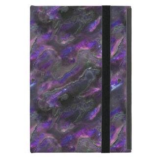 Mother Of Pearl Texture Purple Photo Pattern Cases For iPad Mini