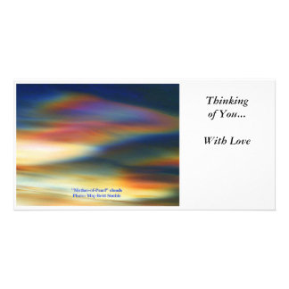 Mother of Pearl - Thinking of You... Photo Card