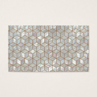 Mother Of Pearl Tiles Business Card