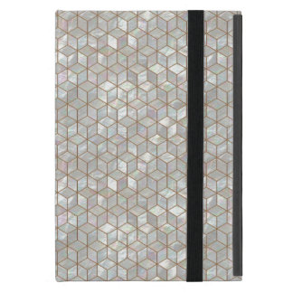 Mother Of Pearl Tiles Cases For iPad Mini