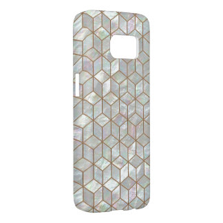 Mother Of Pearl Tiles Samsung Galaxy S7 Case