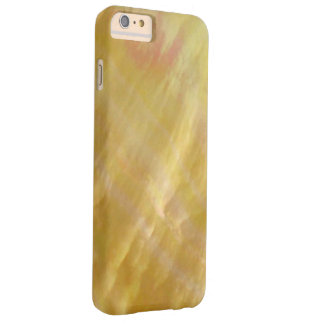 Mother of pearl tones gold barely there iPhone 6 plus case