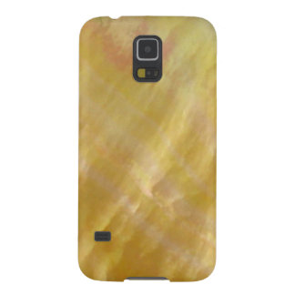 Mother of pearl tones gold galaxy s5 cases