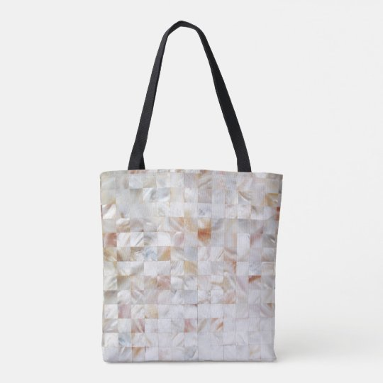 Mother of Pearl Tote Bag