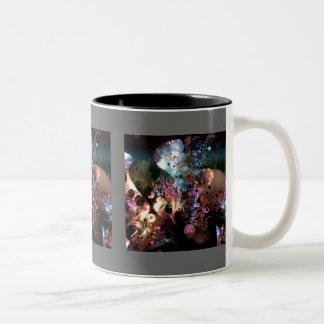 Mother of Pearl Two-Tone Coffee Mug