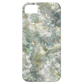 Mother Of Pearl White Abstract Swirl iPhone 5 Cover