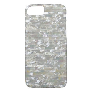 Mother Of Pearl White Tiled iPhone 7 Case