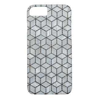 Mother of Pearls Cubic Tiles iPhone 7 Case