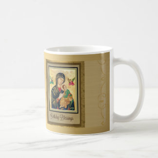 Mother of Perpetual Help Birthday Coffee Mug