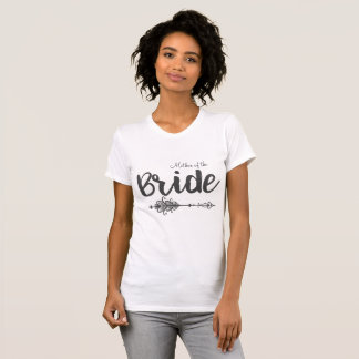 Mother of the Bride Arrow T-Shirt