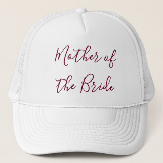 Mother of the Bride Beautiful Trucker Hat