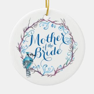 Mother of the Bride Blue Bird Wedding Ornament