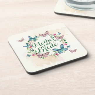 Mother of the Bride Butterfly Wreath | Coaster