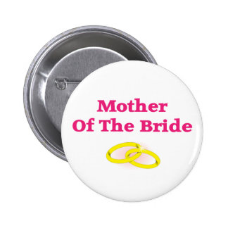 Mother Of The Bride Buttons