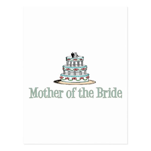 Mother Of The Bride (Cake) Postcards