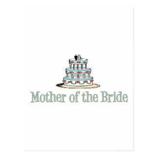 Mother Of The Bride Cake Postcards