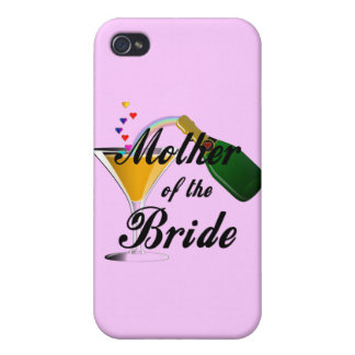 Mother Of The Bride Champagne Toast Covers For iPhone 4