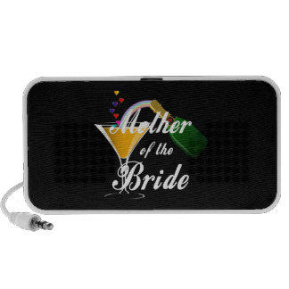 Mother Of The Bride Champagne Toast Notebook Speakers