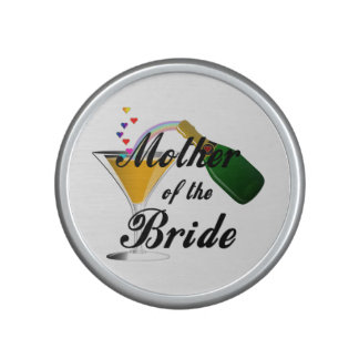 Mother Of The Bride Champagne Toast Bluetooth Speaker