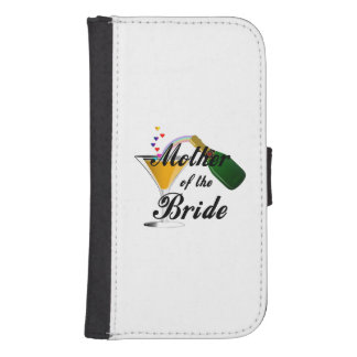Mother Of The Bride Champagne Toast Phone Wallet Case