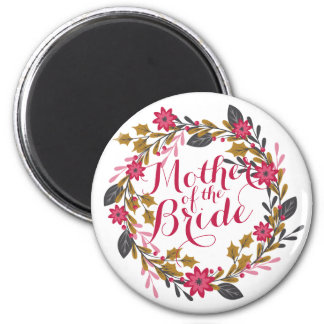 Mother of the Bride Christmas Wedding | Magnet