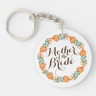 Mother of the Bride Elegant Wedding | Keychain