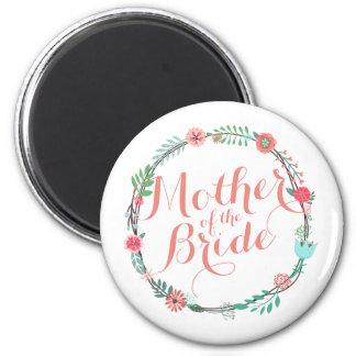 Mother of the Bride Elegant Wedding | Magnet