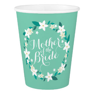 Mother of the Bride Elegant Wedding | Paper Cup