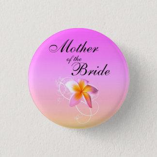 Mother of the Bride Frangipani Wedding Pin