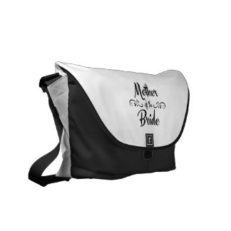 Mother of the Bride - Funny Rehearsal Dinner Messenger Bag