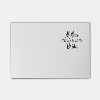 Mother of the Bride - Funny Rehearsal Dinner Post-it Notes