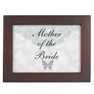 Mother Of The Bride Gift Keepsake Box