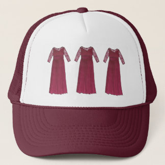 Mother-of-the-Bride Gown Bridal Party Wedding Trucker Hat