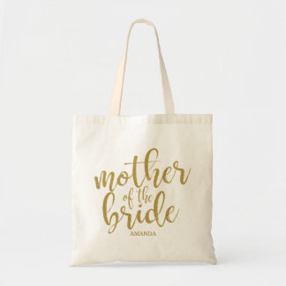 Mother of the Bride Modern Calligraphy Glitter