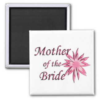 Mother of The Bride Pink Magnet