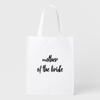 Mother of the Bride Reusable Bag - Wedding