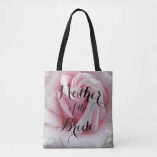 Mother of the Bride Rose Bloom Floral Tote Bag
