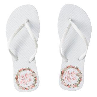 Mother of the Bride Spring Wedding Flip Flops