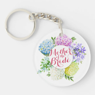 Mother of the Bride Spring Wedding Keychain