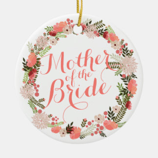 Mother of the Bride Spring Wedding Ornament
