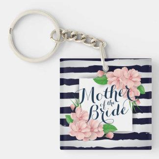 Mother of the Bride Summer Wedding Keychain