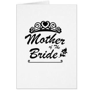 Mother of The Bride Team Wedding Bride Groom s Card