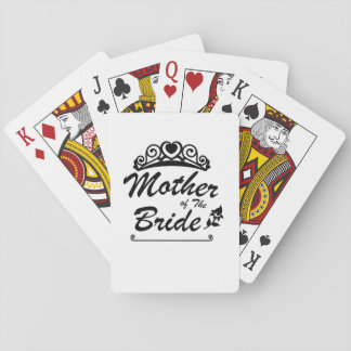 Mother of The Bride Team Wedding Bride Groom s Playing Cards