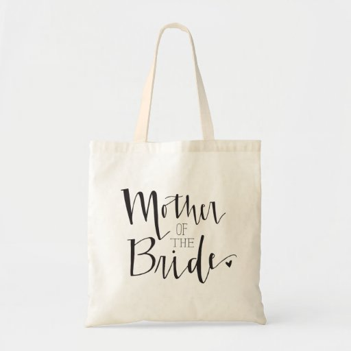 Mother of the Bride Tote Canvas Bags