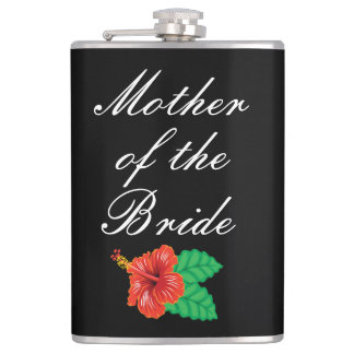 Mother Of The Bride Vinyl Wrapped Flask